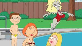 neil family guy porn jillian and lois bikini show